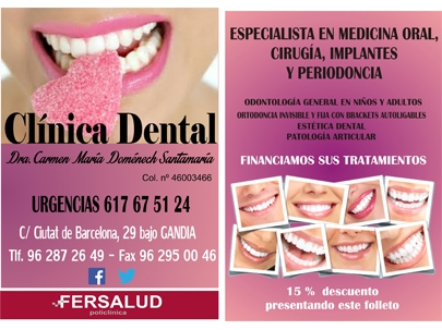 Clinica dental fersalud dentistas en gand a - Clinica dental gandia ...